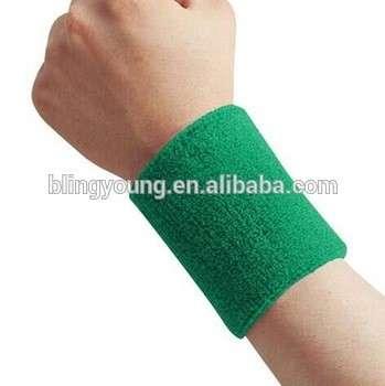 Promotional cheap cotton sport custom sweatbands no minimum