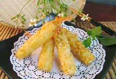 Raw Tempura Shrimp
