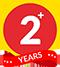 +2 Years