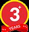 +3 Years