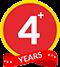 +4 Years