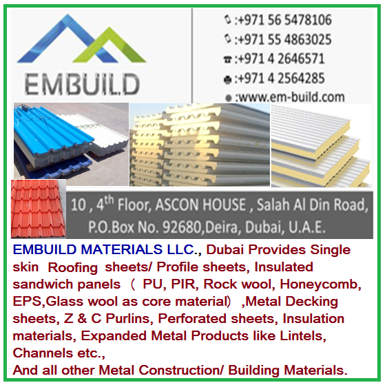 Sandwich Panels / Insulated Panels For Roof And Walls