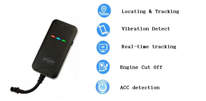 Waterproof Mini GPS Tracker For Vehicle Motorcycle GPS Tracking GPRS