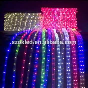 Ip65 white color changing led rope light for outdoor decoration aloadofball Image collections