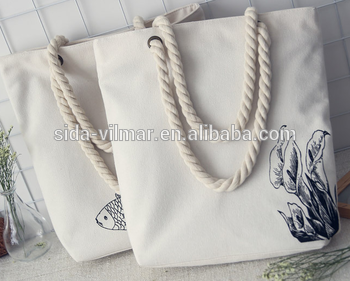 Best Selling Eco Friendly And Heavy Duty Tote Canvas Shopping Bag