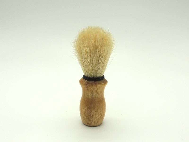 men shaving brush