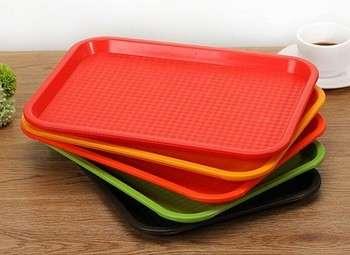 Durable plastic service plate portable plastic serving tray & Plastic Plate Manufacturers   Plastic Plate Suppliers u2013 eWorldTrade