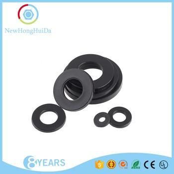Plastic Round O-Ring White Black Flat Nylon Washers/Rubber Washer ...