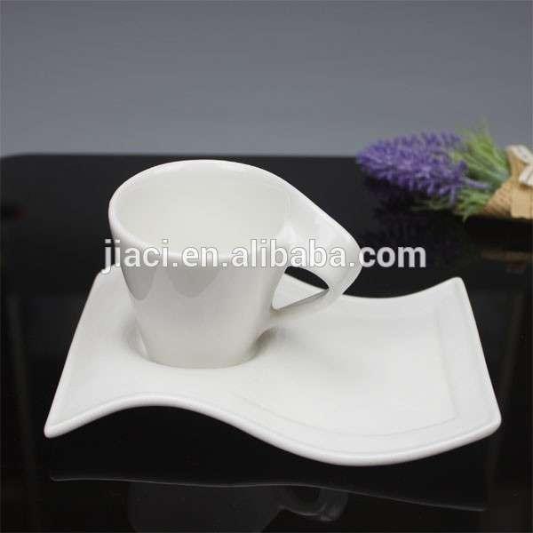 Wave Design Bulk Tea Cups Saucers Cheap, Wholesale Tea Cups And Saucers