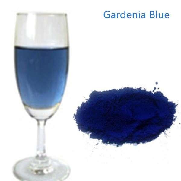 Natural Extract Gardenia Natural Blue Food Coloring