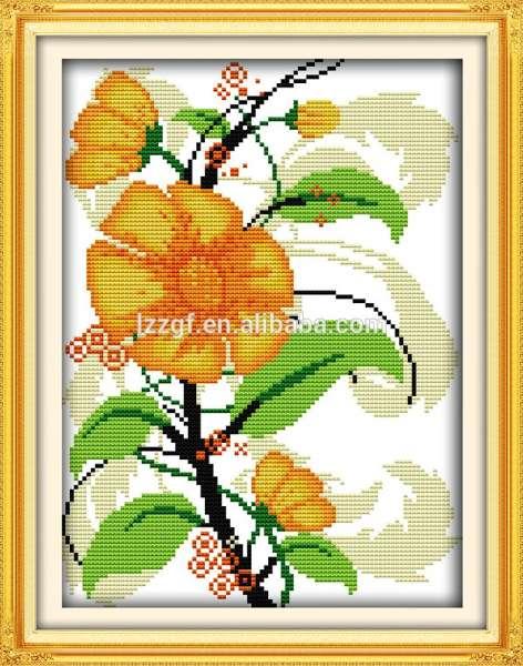 Sunflowers Hand Embroidery Kits DIY Charts Cross Stitch Packs