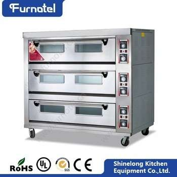 Restaurant Ovens And Bakery Equipment 3-Layer 9-Tray Industrial Size ...