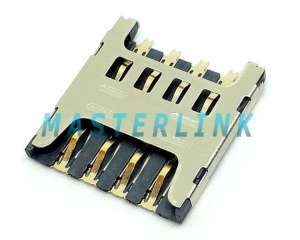Micro SIM socket, Push-Pull Type, 8pin